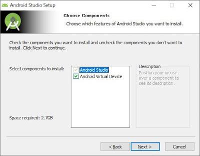 Android Studioをインストール