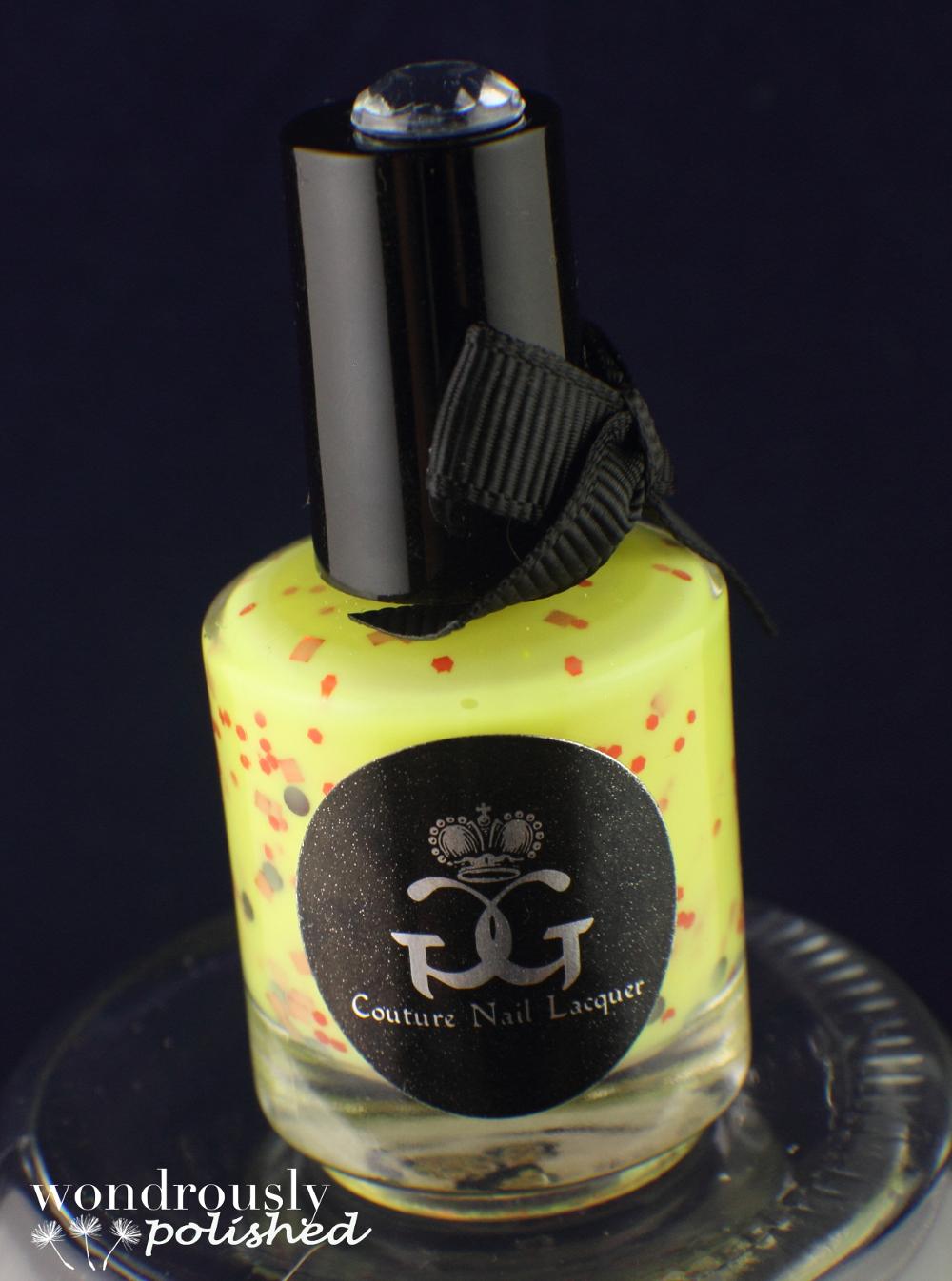 Wondrously Polished April Nail Art Challenge: Wondrously Polished: GG Couture Nail Lacquer Giveaway