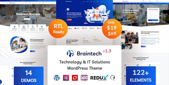 Best Technology and IT Solutions WordPress Theme