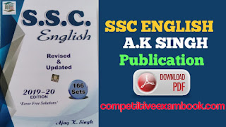 MB Publication English Book By A. K. Singh Pdf Download