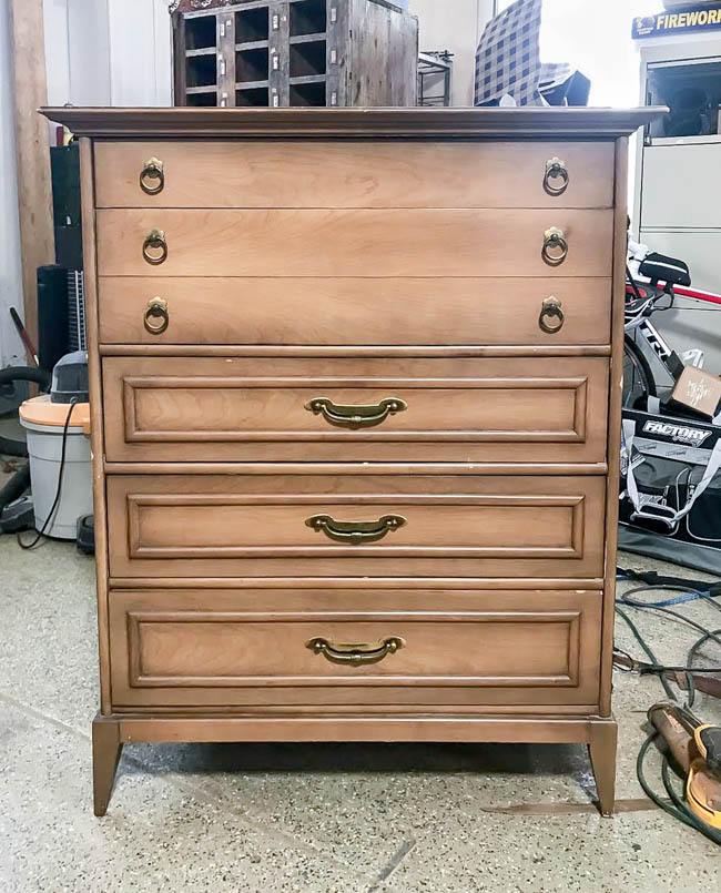 secondhand mcm dresser before