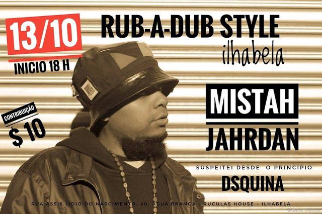Diretamente do Vale do Paraíba, SP, rapper Mistah Jordan se apresenta em Ilhabela