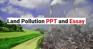 land pollution ppt essay