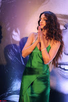 Disha Patani in Beautiful Green Gown at her App Launch 003.JPG