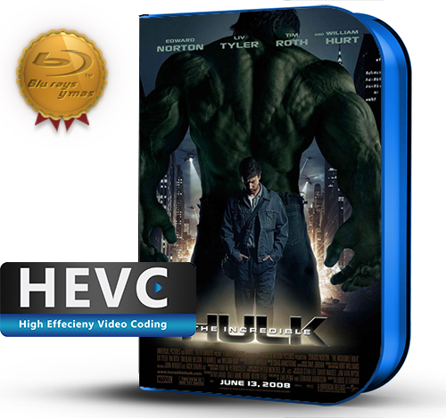 The Incredible Hulk (2008) 1080P HEVC-8Bits BDRip Latino/Ingles(Subt.Esp)(Acción)