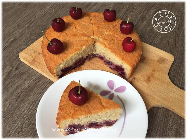 Cherry Cake Recipe Joy Of Baking: Cathy's Joy