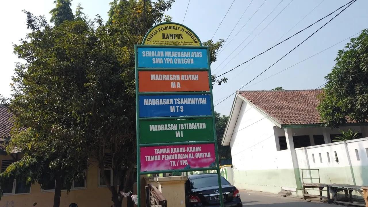 Madrasah Al-Hidayah Samangraya Citangkil Cilegon