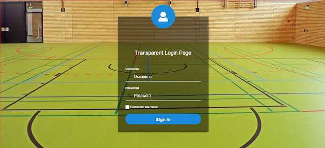 Oracle APEX Tutorial - Transparent Login Page with Avatar in Oracle APEX