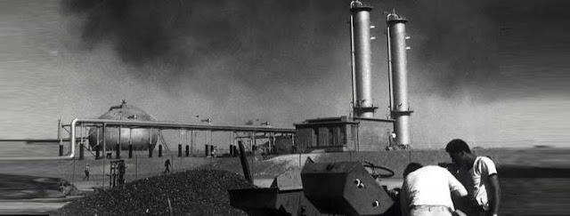 النفط : أول اكتشاف له في منطقة الخليج العربي