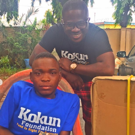 kokun foundation gets wheelchair