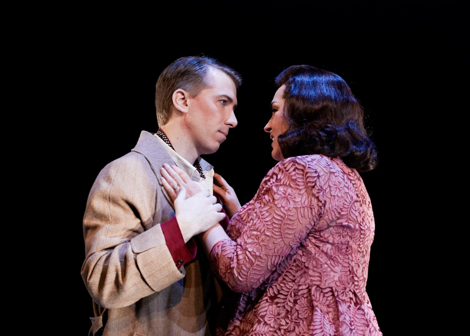 Joseph Dennis (boris) And Melody Moore (katya) Philip Newton Photo