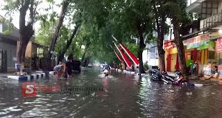Hujan Sesaat, Waspada Jalan Mastrip Tergenang Air