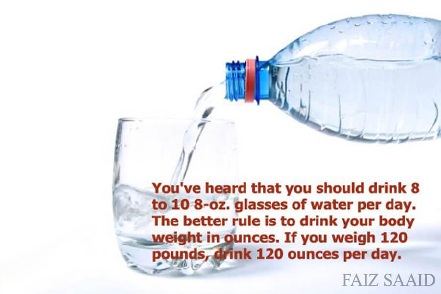 air minum banyak