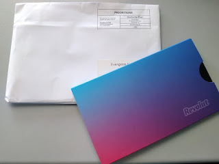 Revolut card by mail
