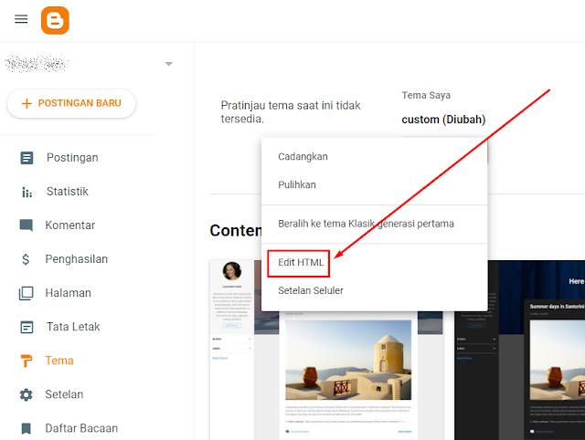 edit html | menambahkan kode html button download dan demo untuk blog