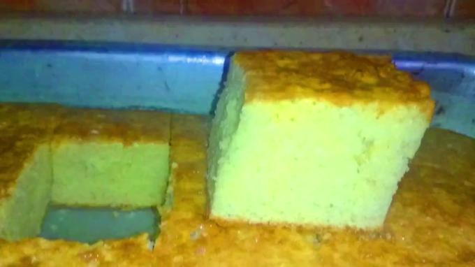 ليه الكيكة بيتغمق | سبب اسمرار الكيكة