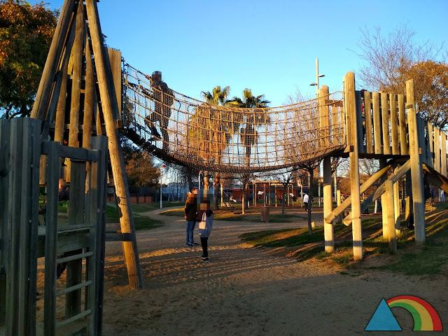 Parque Francesc Macià en Malgrat de Mar