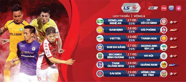 Vòng 6 V-League cực nóng: Đại chiến vì ngôi đầu, Công Phượng so tài Phan Văn Đức