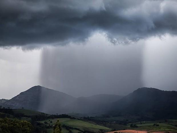 Rafael Fernandes registra chuva durante o fim de semana