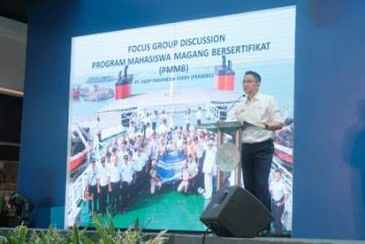 ASDP Gandeng 7 Politeknik Pelayaran, Tampung Taruna Prala