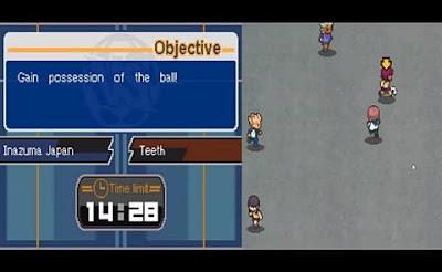 Inazuma Eleven 3 (English) NDS ROM Screenshot-2