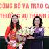 Hà Nội: Bổ nhiệm bà Bạch Liên Hương làm Giám đốc sở Lao Động, Thương Binh và Xã hội