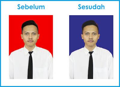 Perbedaan Foto Sebelum dan Sesudah diedit