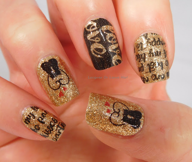 Incoco Dear Diary + Sweet On You Accent Nails