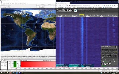 Telemetrie ontvangst NAYIF-1 / EO-88 PA3GNZ