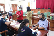 Dewan Perwakilan Rakyat Daerah (DPRD) Kabupaten LANDAK,) Kembali Melakukan Rapid Test Massal