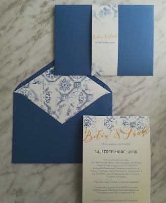 invitación de boda