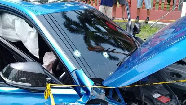(Video) Pemandu parah ditembak, 5 termasuk 3 pelajar cedera dirempuh 12