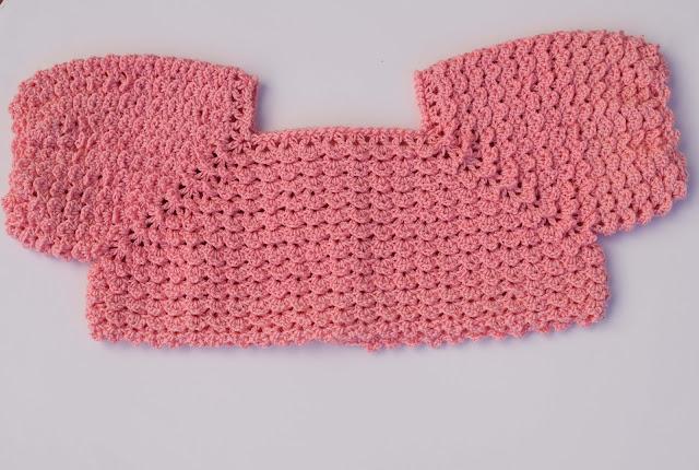 6-Crochet Imagen Canesú para vestido a crochet y ganchillo por Majovel Crochet