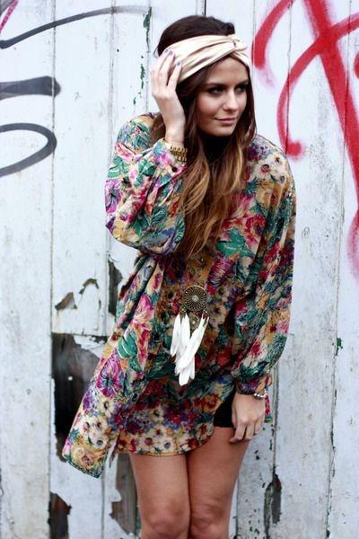 I want pretty look outfits con estilo bohemio chic boho for Stile hippie chic