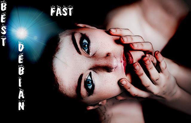 Debian Fast Girl versão 2
