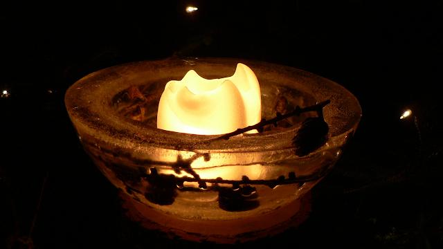 vela de arena moldeada