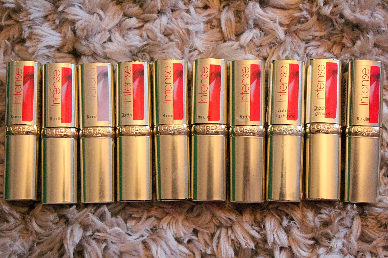 Testbericht | Review: L'oreal Color Riche Intense Lippenstifte