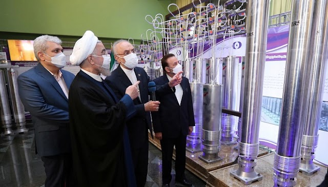 IAEA confirms that Iran has started producing uranium enriched to a purity of 60%.
