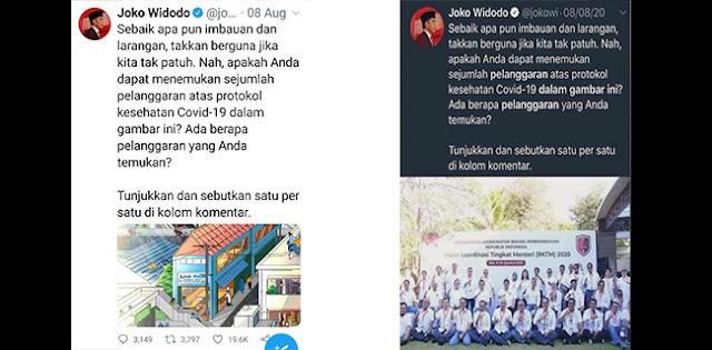 Cuitan Jokowi Dimanipulasi, Arief Poyuono: Ada Yang Coba Mengacaukan Kebenaran Pertemuan Kabinet Bahas Penanggulangan Covid-19