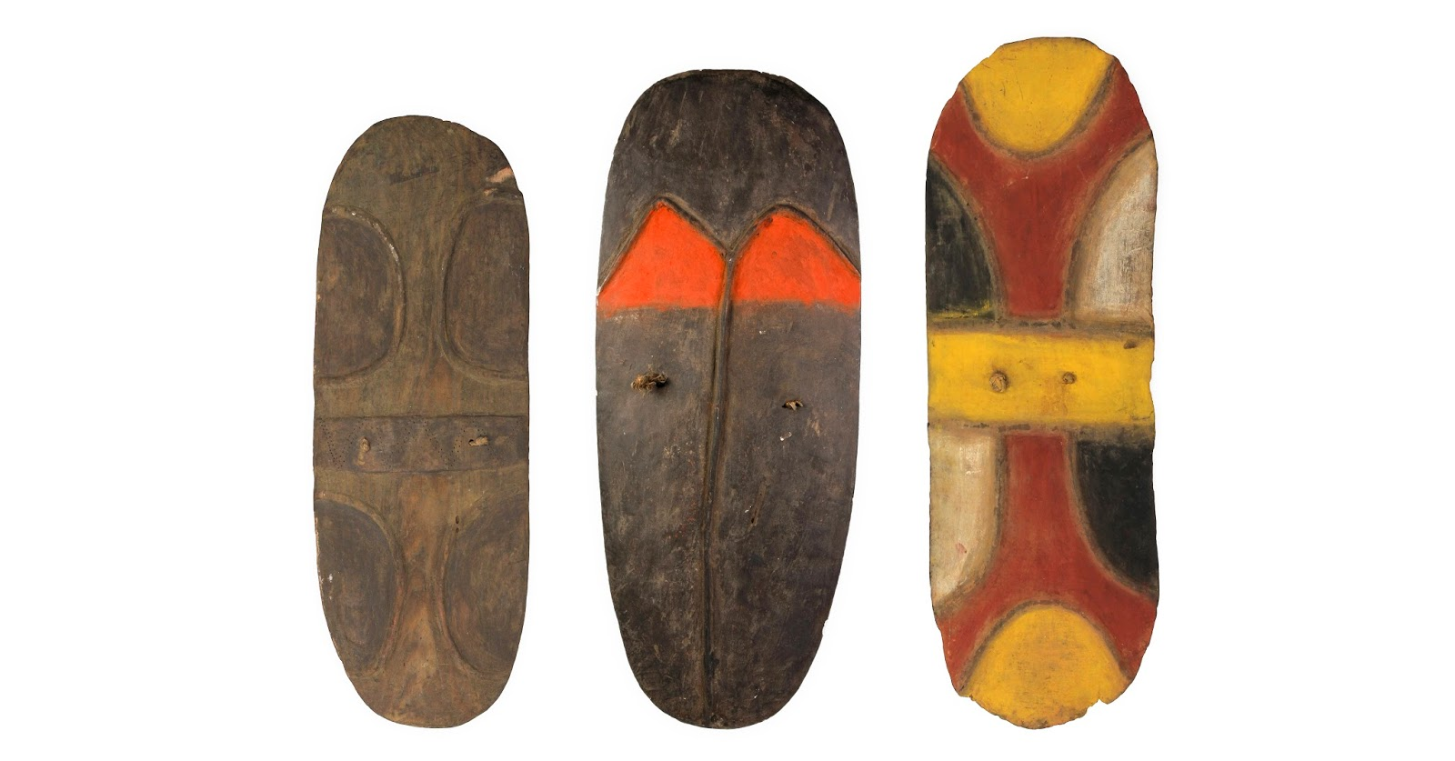 Shields of Mendi Valley