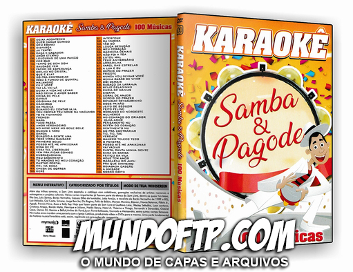 dvd karaoke pagode
