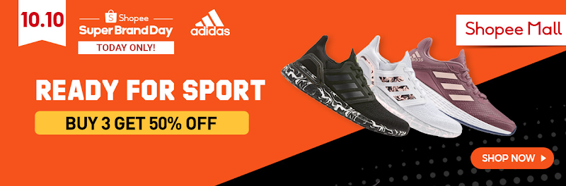 Adidas to Launch First Regional Super Brand Day in Southeast Asia as part of the Shopee 10.10 Brands Festival