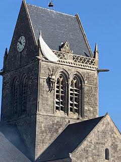 Campanario SAinte-Mere-Eglise, John Stelee, Día D