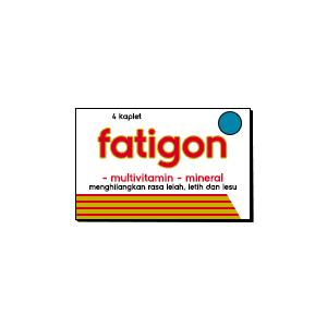 Fatigon, Multivitamin - Mineral Untuk Menghilangkan Rasa Lelah, Letih dan Lesu
