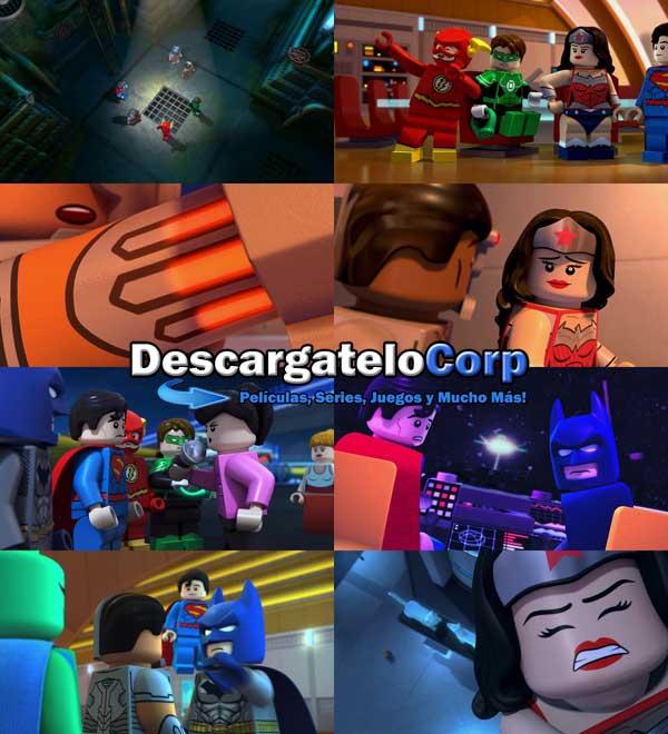 Descargar Liga de la Justicia Ataque a la Legion del Mal DVDRip Latino