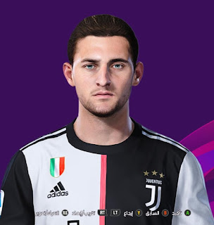 PES 2020 Faces Adrien Rabiot by So PES