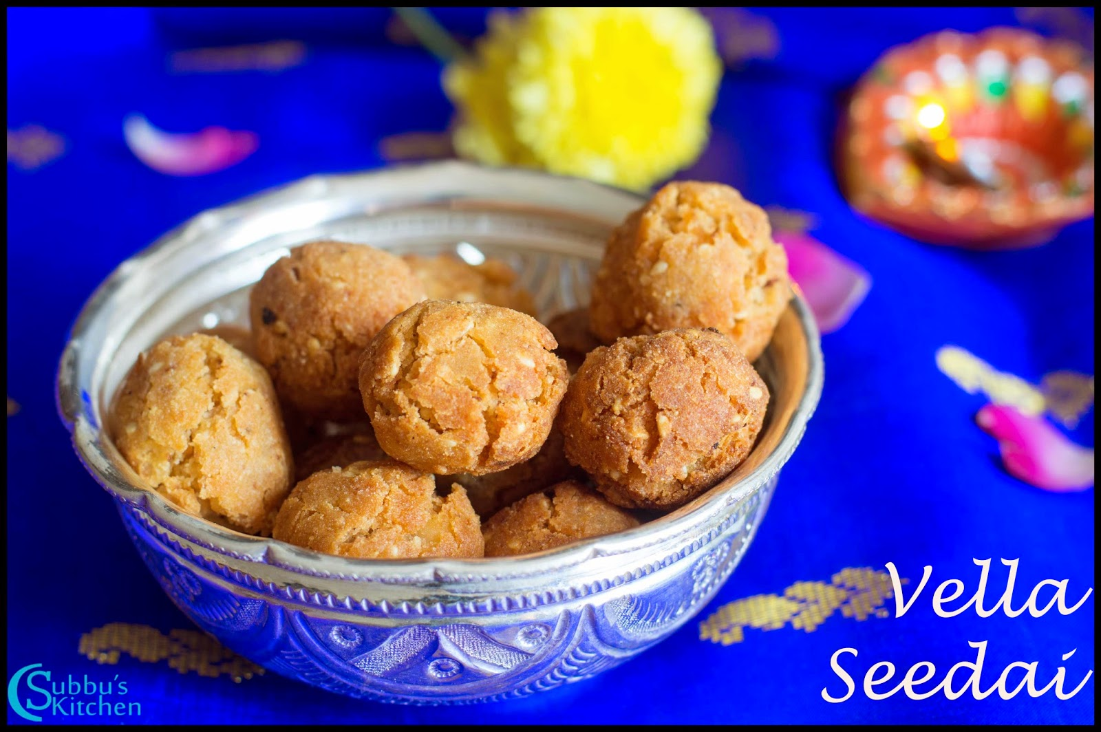 Vella Seedai Recipe | Sweet Seedai Recipe