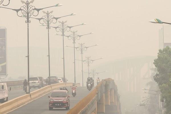 Kata Pak Jokowi Gak Ada Karhutla, Kok di Riau Kabut Asap Makin Pekat?