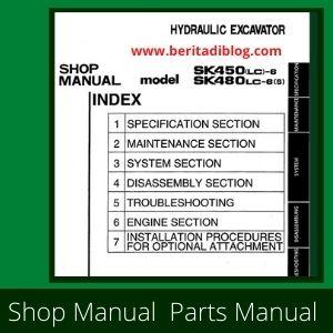 Kobelco shop manual sk450lc-6 sk480lc-6