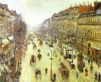 Camille Pissarro: Boulevard de Montmartre